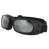 Bobster Piston Goggles Smoked Reflective Lens 100% UVA / UVB BPIS01R