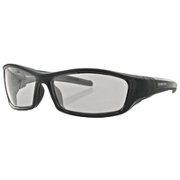 HOOLIGAN SUNGLASSESBLK FRAME PHOTO CHROMIC LENSES BOBSTER EYEWEAR