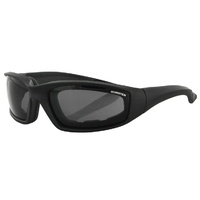 Bobster Foamerz 2 Sunglasses Smoke Lens Anti-Fog 100% UVA / UVB ES214