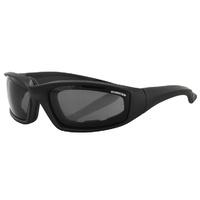 Bobster Foamerz 2 Sunglasses Smoke Lens Anti-Fog 100% UVA / UVB ES214