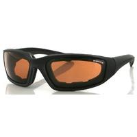 Bobster Foamerz 2 Sunglasses Amber Lens Anti-Fog 100% UVA / UVB ES214A