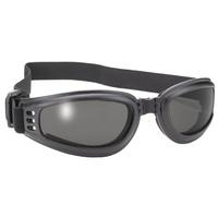 Bobster Eyewear MFG#4520 Cruiser / Nomad Goggles w/Smoke Lens