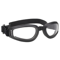NOMAD FOLDING GOGGLE BLACK FRAME WI TH CLEAR LENS MFG#4525