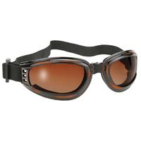 Bobster Eyewear MFG#4521 Cruiser / Nomad Goggles w/Tortoise Frames & Brown Gradient Lens