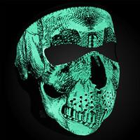 ZanHeadgear New Glow in the Dark Skull Full Face Mask