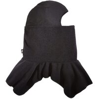 BALACLAVA FLEECE SPANDEX CROWN BLACK ZANHEADGEAR            WB114S