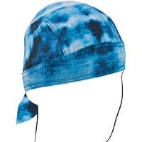 ROAD HOG FLYDANNA,BLUE TIE DYE 100% COTTON ZANHEADGEAR ZSG100