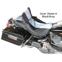 SEAT/TANK COVER BLACK/GREY FITS 95/L* SOFTAIL MODELS BIKESHEATH 044331