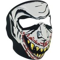 Zanheadgear Neoprene Full Face Glow in the Dark Vampire Mask WNFM067G
