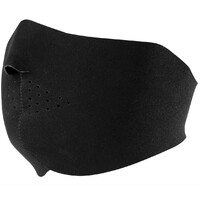 ZanHeadgear New Solid Black Half Face Mask