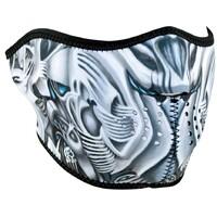 Zanheadgear Neoprene Half Face Mask Biomechanical WNFM024H