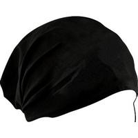 HEADWRAP SOLID BLACK USE AS HEADB AND OR WRAP 100% COTTON ZANHEADGEA