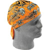 ZAN HEADGEAR ORANGE TRIBAL FLYDANNA SUIT ALL MOTORCYCLE RIDERS