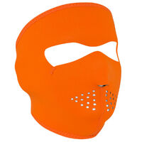 ZanHeadgear New High Visibility - Orange Full Face Mask WNFM142H