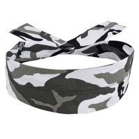 COOLDANNA HEAD AND NECK TIE 100% COTTON, URBAN CAMO ZANHEADGEAR D202