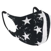 Zanheadgear Neoprene Face Mask Black & White Flag FMLW091