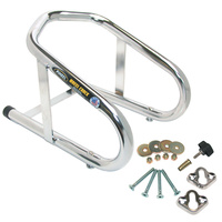 """WHEEL CHOCK REMOVALBE CP FITS UP T O 6 1/2"""" WIDE TIRE INCLUDES MTG HRD"""