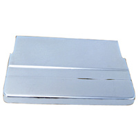 BATTERY COVERTOP CHROMED FL FLH 19 65/1984 REPLACES HD 66370-65T