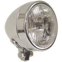 """V-Factory 11042 Headlight 3.5"""" Halogen 55/60w 12v Chrome Springer or standard Style Universal Use"""