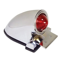 V-FACTOR SPARTO STYLE TAILLIGHT CUSTOM USE WITH 12 VOLT LED DIE CAST CHROME PLATED