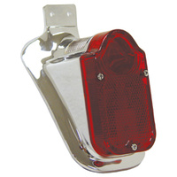 Taillight 12v Tombstone 47-54 Look O.E 68003-47T Suit Custom Applications