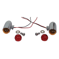 BULLET STYLE TURN SIGNAL KIT UNIVERSAL USE FITS HARLEY OR CUSTOM USE