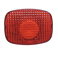V-FACTOR OE STYLE TAILLIGHT LENS REDBT SPT 73/93(EX FXDWG 93) SIDE CAR 79/98 DOT APPROVED