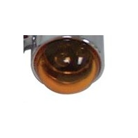 AMBER REPLACEMENT TS LENS FITS KITS #11444 #11445 USE WITH DUAL BULB