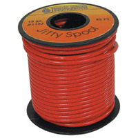 ELECTRICAL WIRE RED 18 GAUGE STRAN DED COPPER W/PVC JACKET45' ROLL