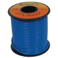ELECTRICAL WIRE BLUE 18 GAUGE STRA NDED COPPER W/PVC JACKET45' ROLL