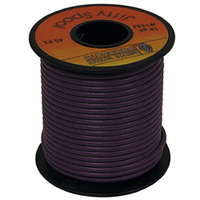 ELECTRICAL WIREPURPLE 18 GAUGE STR ANDED COPPER W/PVC JACKET45' ROLL