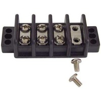 ELE TERMINAL JUNCTION BLOCK CUSTOM USE30AMP4 BRASS LINKS W/SCREW2-3