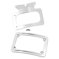 CURVED LICENSE PLATE FRAME,CP TOURING MODELS 2010/LATER* RPLS HD 67900008