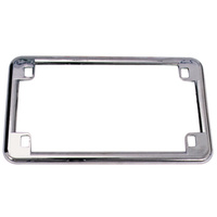 "LICENSE PLATE FRAMEDIE CAST FITS A LL 4""X7"" LICENSE PLATES DIE CAST CH"