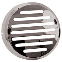 """V-FACTOR HORN COVERABS PLASTIC CHROME SPT 883 86/93 XR1000 83/84 3-1/12""""OD RPLS HD 69038-88TA"""