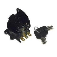 V-FACTOR IGNITION SWITCH FATBOBBLACK ST 96/10RK 96/13FXDWG 93/11 WITH ROUND KEY