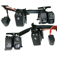 HANDLEBAR SWITCH WIRING KIT BT & SP T 07/L* (EX MODELS WITH RADIO OR CRUISE)