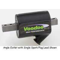Andover  COIL 5OHM VOODOO BLACK BT SPT W/POINT/ELEC SINGLEFIRE SINGLE PLUG HEAD MFG#VOO-23