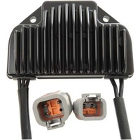 V-FACTOR REGULATOR/RECTIFIER OE STYLE DYNA MODELS 2006/2007 BLACK REPLACES HD 74561-06