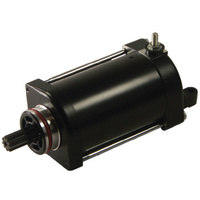 BLACK OE STYLE STARTER MOTOR FITS V -ROD 2002/LATER REPLACES HD# 31718-