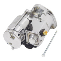 V-Factor 17092 Starter Chrome Big Twin 89-06 STARTER 1.4kw High Torque Oem 31552-89a 31553-94