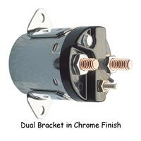 STARTER SOLENOIDDUAL BRACKET BT 5 SPD 80/88(EX SOFTAIL) CHROMERPLS H