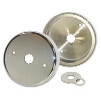 V-Factor Alterator Rotor Chrome Big Twin Flt 81-94 Softail 84-00 Dyna 99-03 22-32amp Oem 29957-81b
