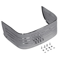 V-FACTOR  FENDER ORNAMENTFR BOTTOM TRIM FL FLT FLHT FLHS 49/85 W/MTG HRDW...REPLACES HD 59233-68