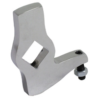 V-Factor 23219 Adjustable Jiffy Stand Leg Stop Fits Softail 1984-06 & 4Sp Big Twin 1936-86 Custom Use