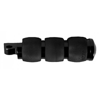 FOOTRESTS, AIR CUSHIONED BLACK, MALE MOUNT, CUSTOM USE FP-AIR-90-ANO
