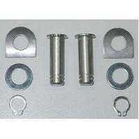 V-Factor 24102 Stainless Steel FootPeg Mounting Kit Fits Most Models Oem 42679-01 Sold Kit