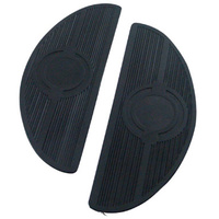 FOOTBOARD PARTEARLY STYLE PAD PAIR  BIG TWIN 1941/L* RUBBER REPLACES