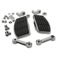 FOOTBOARDS,MINI DRIVER ADJ FXDWG,FXST 1984-2014 FULLY ADJUSTABLE