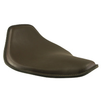 """Rich Phillips SNUB NOSE SOLO SEATLEATHER 13""""LONG X 9-1/2"""" WIDE 1/2""""PADCHOCOLATE BROWN"""